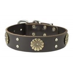 Fleur - Leather Collar