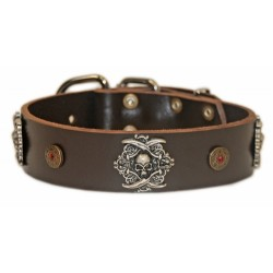 The Pirate - Leather Collar