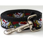 Wild One Collection Black Dog Leash