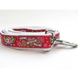 Wild One Pink Dog Leash