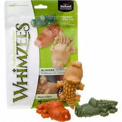 Whimzees Alligator Dental Dog Treats by the Bag
