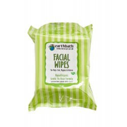 Earthbath Grooming Wipes Hypo Allergenic For Face 25pk
