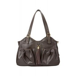 Metro - Chocolate Brown with Tassel