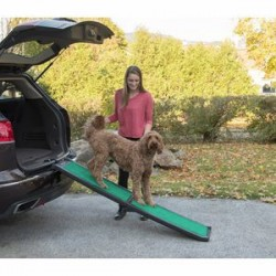 Bi-Fold Pet Ramp With supertraX