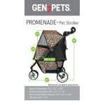 Black Onyx Promenade Stroller for pets up to 50 lbs