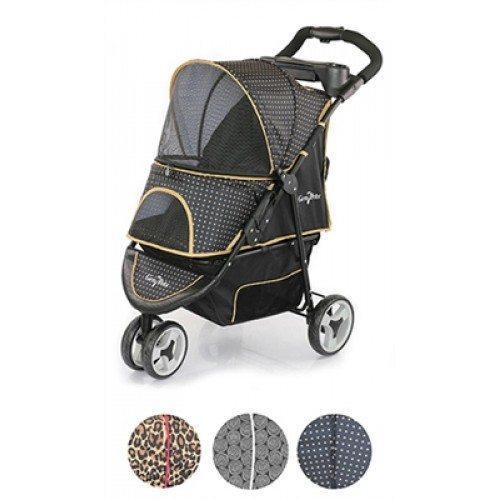 Gold Nugget Promenade Stroller for pets up to 50 lbs